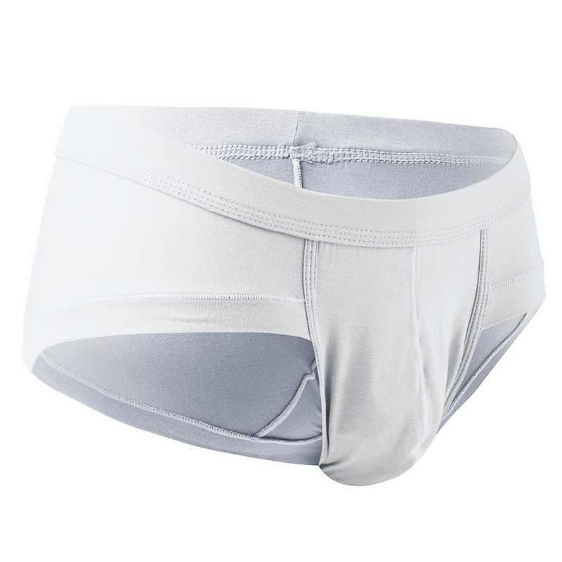 Oeak Mens Sexy Modal Cueca Cuecas Dos Homens Baixo Crescimento U convex Bolsa Breve Roupa Interior Dos Homens do Estiramento Cuecas Respirável