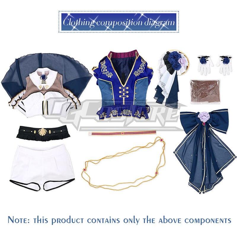 Estrondo de Sonho! Udagawa ako roselia cosplay