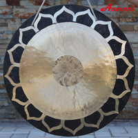 28\'\' hot sale deep wave lotus wind gong with a free mallet (without stand)