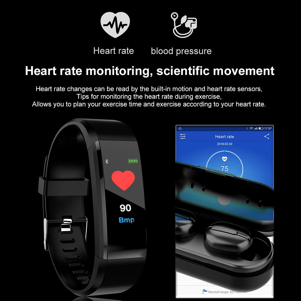 Fitness Tracker Sports Smart Watch