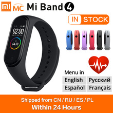 Xiaomi Smart-Bracelet Fitness Waterproof Sport Bluetooth-5.0 Original Amoled-Screen 4