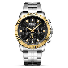 2019 Mens Watches Top Luxury Brand Business Steel Quartz Watch Casual Waterproof Male Wrist Silver Steel Digital Quartz Analog недорого