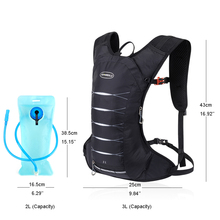 Lightweight Bicycle Hydration Backpack Waterproof Camping Backwater Bag Sports Trail Running Marathon Cycling Backpack