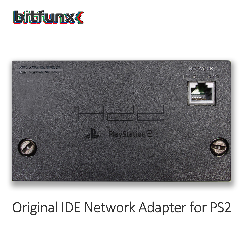Kit de mise à niveau Bitfunx SATA pour l'adaptateur réseau d'origine PS2 d'occasion - 3