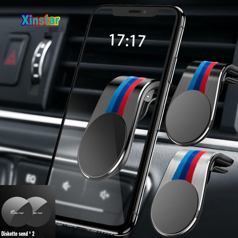 New Air Vent Mount Stand Magnetic Car Phone Holder for BMW E36 E46 E60 E90 F10 F20 F30 M1 M2 M3 M4 M5 M6 X1 X3 X5 X6 GT Z4(China)