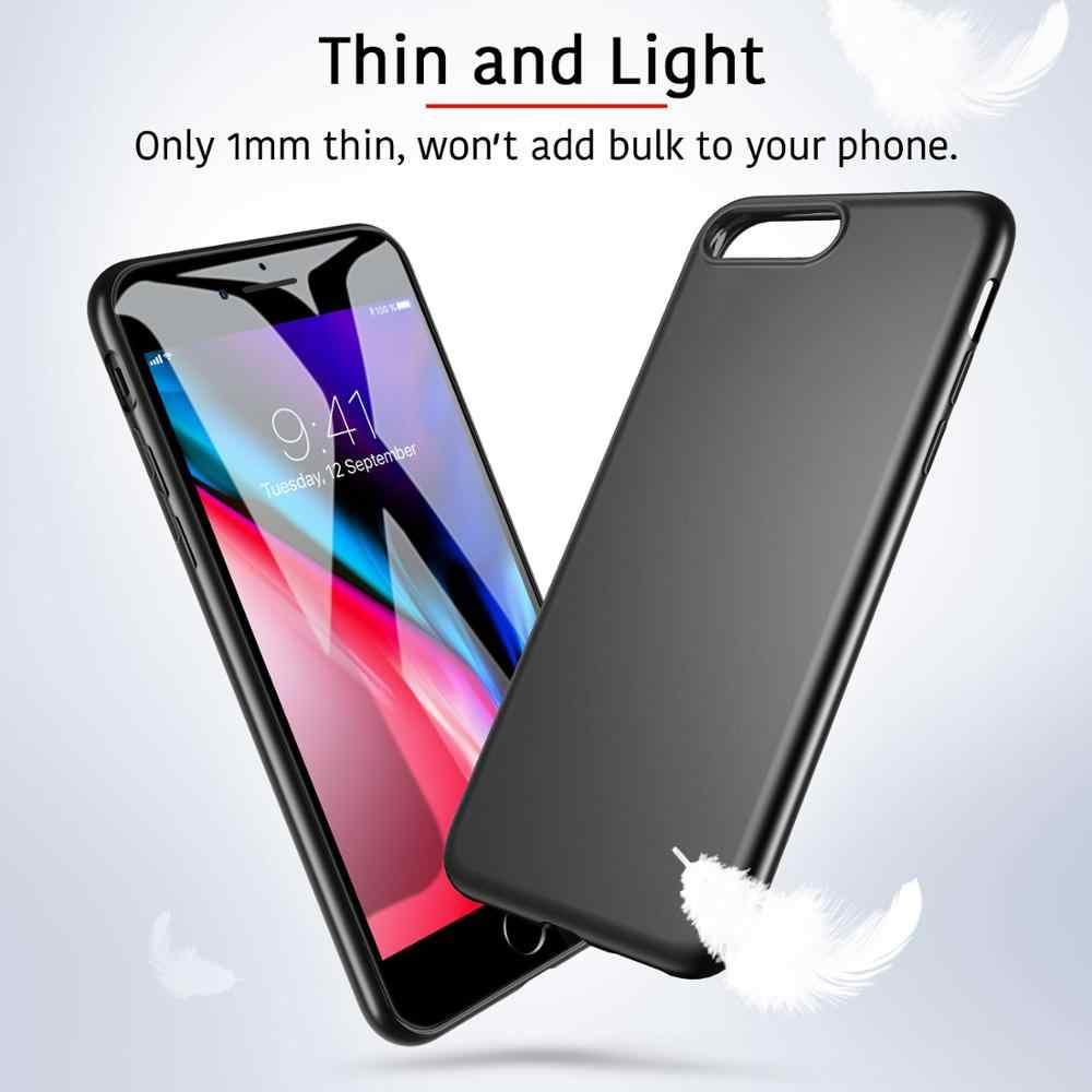 ESR Case עבור 2020 iPhone SE 2nd Gen 8/7/6/6S בתוספת עמיד הלם קשיח מלא בחזרה מגן טלפון כיסוי טביעות אצבע התנגדות מקרה