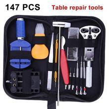 147Pcs Portable Watch Repair Tool Kit Set Watchmaker Link Pin Remover Back Case Opener New Watch Repair Tool Kit Set цена и фото