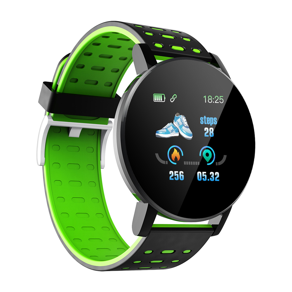H5cfbd210470d44f7ade6a7579487a758s Fitness Bracelet Blood Pressure Measurement Smart Band Waterproof Fitness Tracker Watch Women Men Heart Rate Monitor Smartband