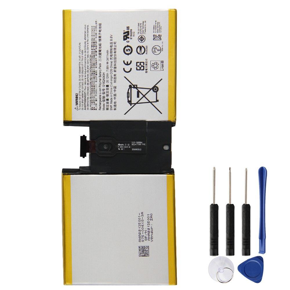 Купить оригинальный аккумулятор g16qa043h для microsoft surface go