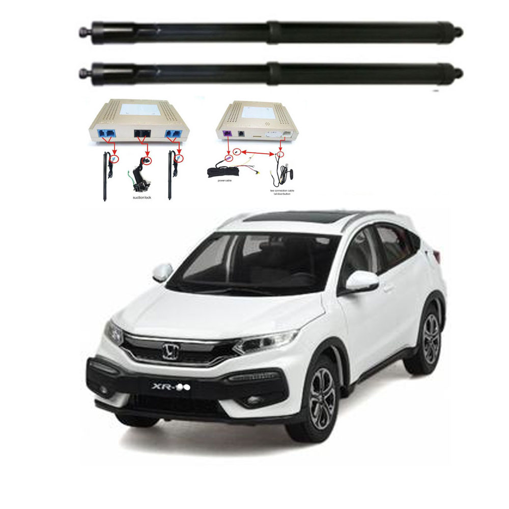 New Electric Tailgate Refitted For HONDA HRV XRV VEZEL 2017- Tail Box Intelligent Electric Tail Door Power Tailgate Lift Lock