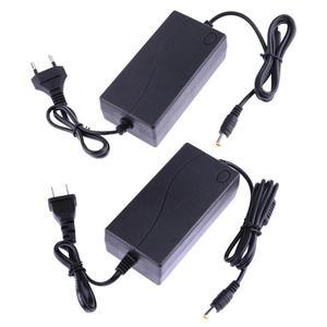 "Image 1 - 19V 2.1A AC כדי DC כוח מתאם ממיר 6.5 6.0*4.4mm עבור LG צג אספקת האיחוד האירופי ארה""ב תקע מטען עבור LCD הטלוויזיה GPS ניווט"