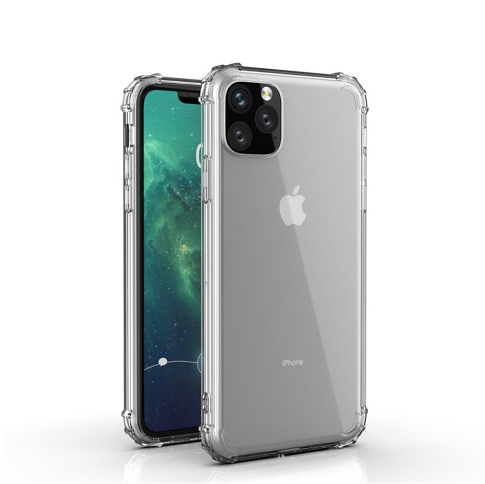 !ACCEZZ For iPhone 11 Case 2019 For iphone 11 Pro Max New Soft Cases Transparent Protection Back Cover Mobile Phone Shell Coque (10)