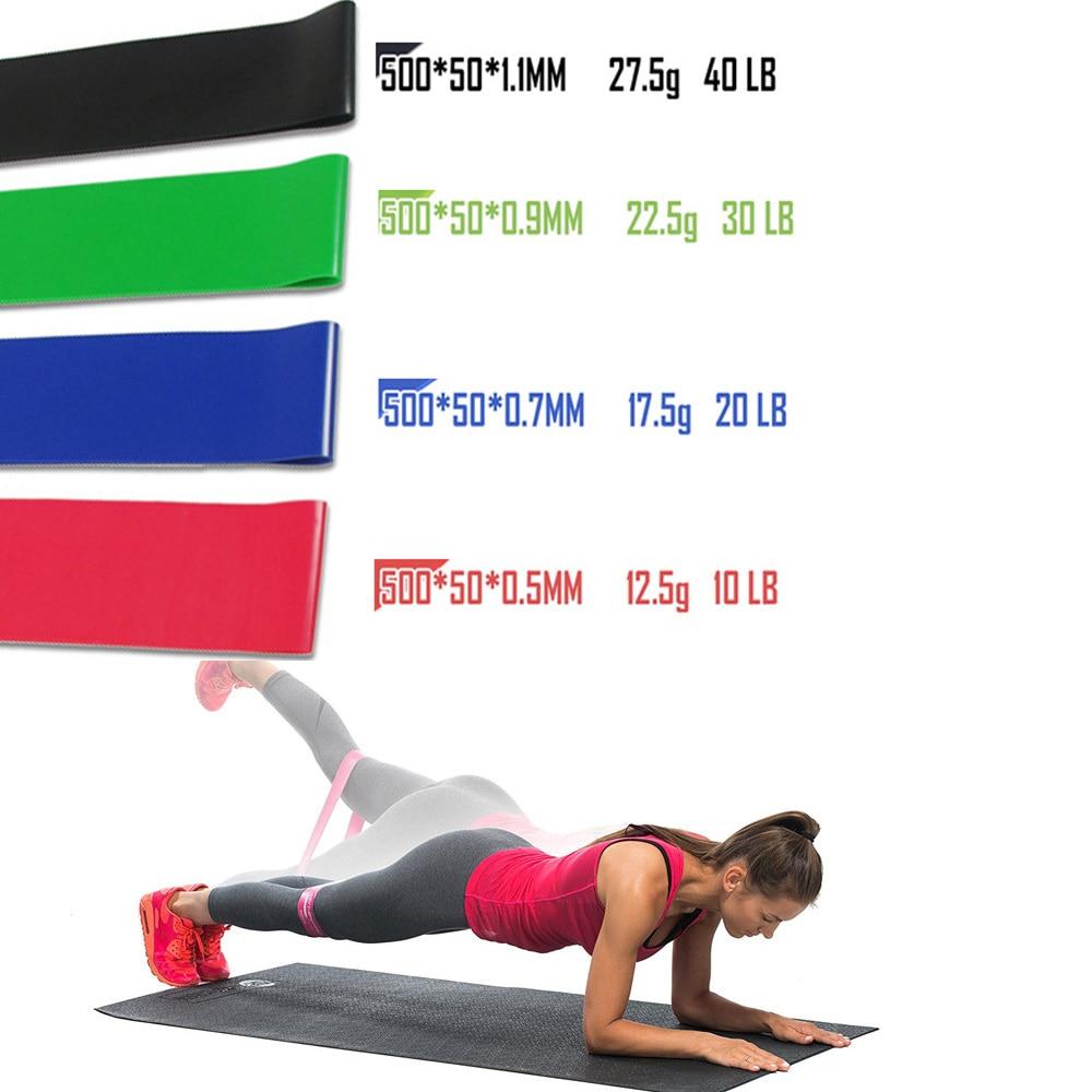 Набор эспандеров для фитнеса, эластичные ленты для тренировок, 11 шт.-5