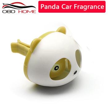 Panda wersja odświeżacz powietrza do samochodu zapachów w car styling otwory wentylacyjne perfumy perfumy perfumy perfumy akcesoria do wnętrza samochodu powietrza odświeżyć tanie i dobre opinie CN (pochodzenie)