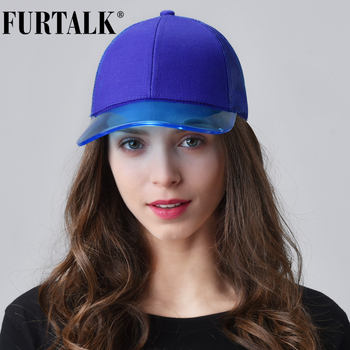 FURTALK Baseball Cap Women Black Snapback Hip Hop Cap Summer Ladies Adjustable Pink Baseball Cap Korean Female Hat for Girls 2