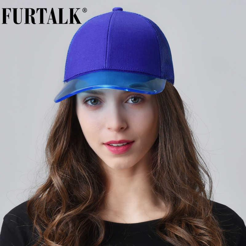 Furtalk 野球キャップ女性黒スナップバックヒップホップキャップ夏レディーピンク野球帽韓国女性のための