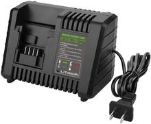 PCC690L Charger For Porter Cable 20V Max 10.8V-20V Li-Ion Battery Charger Compatible With Black Decker BDCAC202B US/EU/UK Plug fast charger replacement for porter cable 20v max lithium ion battery and black