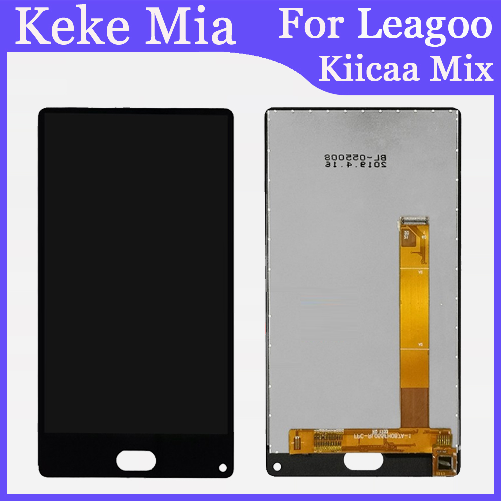 Mobile Phone 5.5'' inch For Leagoo Kiicaa Mix LCD Display+Touch Screen Digitizer Repair Parts Screen Glass Replace And Tools|Mobile Phone LCD Screens| |  - title=