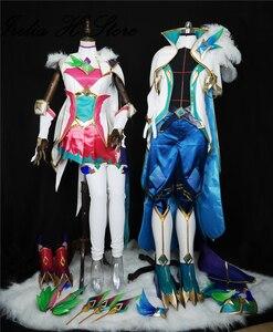 Лол звезда стража ксая Косплей Костюм с реквизитами обувь Хэллоуин Рождественские костюмы