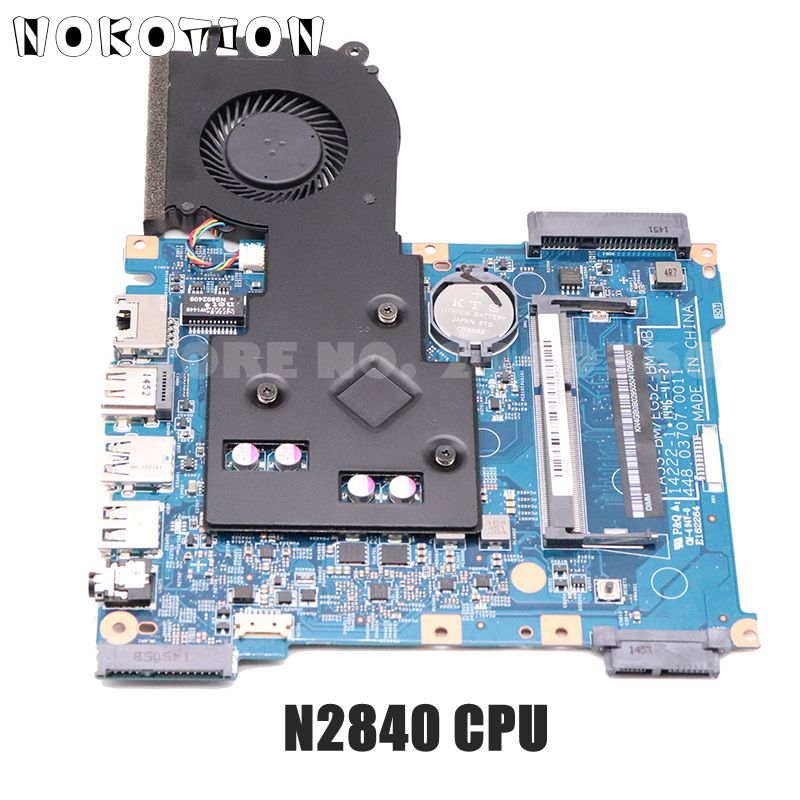 NOKOTION NBMRW11002 NB.MRW11.002 For Acer Aspire ES1-512 Laptop Motherboard EA53-BM EG52-BM 448.03708.0011 N2840 CPU DDR3