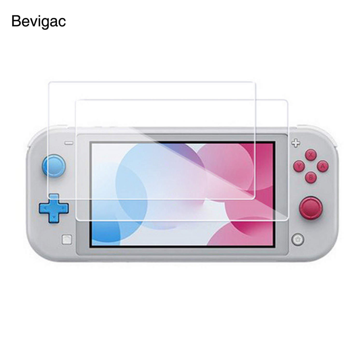 Bevigac 2PCS Tempered Glass Screen Protector Film Cover for Nintendo Nintend Nitendo N-Switch Switch Lite Mini Console Gadgets