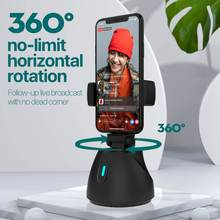 Smartphone Gimbal Mount-Accessories Live-Streaming Vlog Rotation Selfie 360-Degree Auto-Tracking-Shooting-Holder