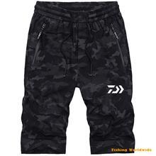 Дайв Рыбалка одежда открытый быстросохнущая дышащая с защитой от ультрафиолета для рыбалки Велоспорт камуфляжные мужские брюки плюс размер dawa, рыболовство одежда