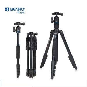 Image 2 - Benro IT25 SLR Camera Tripod For SONY Canon Nikon Flexible Aluminium Alloy Tripod Portable Bracket Professional Tripod Head Set