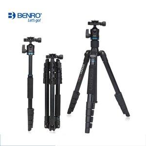 Image 2 - Máy Ảnh Benro IT25 SLR Chân Máy Ảnh Cho Sony Canon Nikon Linh Hoạt Hợp Kim Nhôm Chân Máy Di Động Giá Đỡ Chuyên Nghiệp Tripod Đầu Bộ