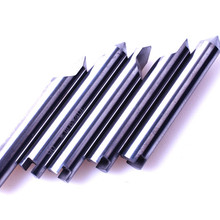 5 шт./лот W106 карбидный ключ с зазубринами резак 90 градусов 0,6 мм наконечник перового сверла заменить SILCA TRIAX QUATTRO копировально-фрезерный станок для обработки замочных ключей