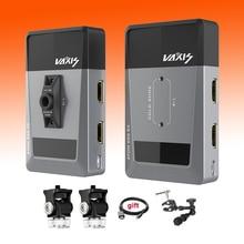 Vaxis ATOM 500 kablosuz verici alıcı 1080P HD çift HDMI görüntü Video kablosuz iletim sistemi fotoğraf kamera