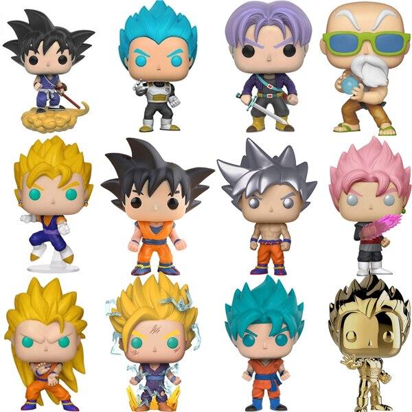 Funko POP Dragon Ball Super Saiyan Goku Vegeta FRIEZA GREAT Anime Figure Original PVC Action Figures Collectible Model Toys 2F62