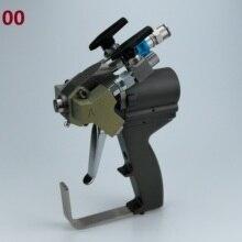 P2 gun, A5 spray gun ABRA500 mit 00 Mix Kammer für low flow ausgang spray polyurethan schaum anwendungen