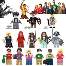 Single Pirates of the Caribbean BBT Shelton Doctor Who House of Paper MG0186 Building Blocks Children toys Christmas Gifts WM470(China)