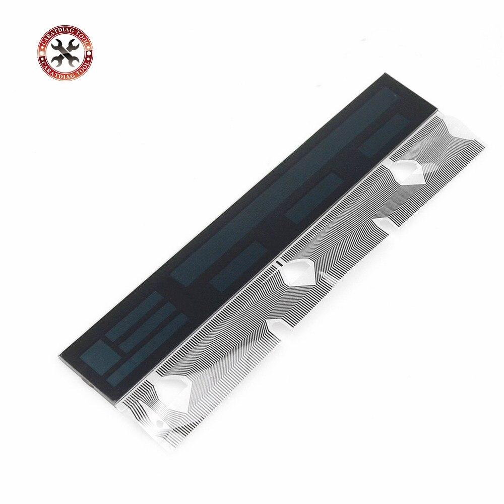 Velocímetro instrumento lcd & pixel reparação fita cabo para bmw e53 x5 e39 e38 2001-2003 prata carbono para bmw display lcd