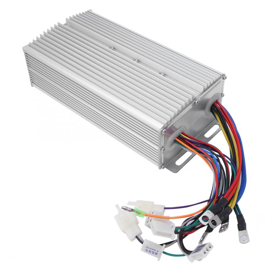 24Tube 48V <font><b>60V</b></font> <font><b>1000W</b></font>-1200W Universal Brushless Motor <font><b>Controller</b></font> Electric Bicycle Brushless <font><b>Controller</b></font> Electric Bicycle Accessory image