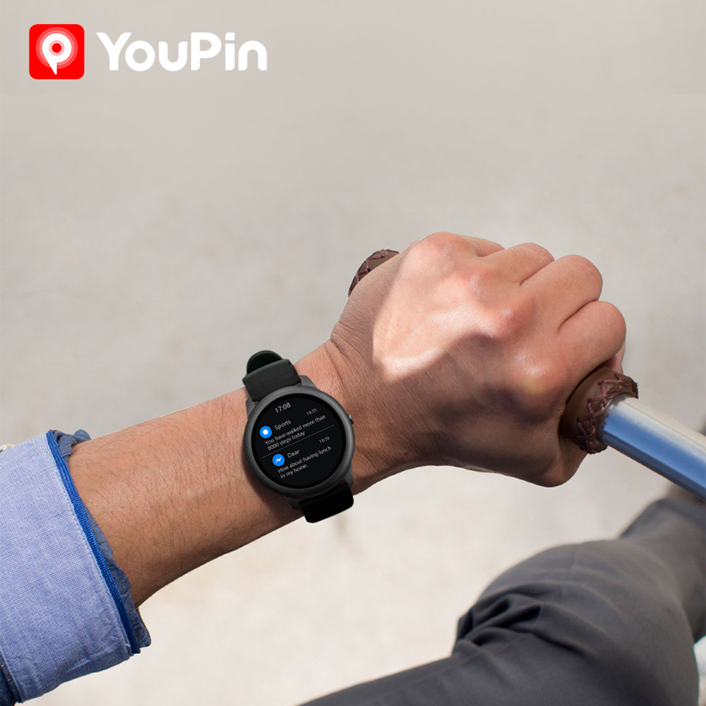 Haylou Solar LS05 Smart Watch Sport Metal Heart Rate Sleep Monitor IP68 Waterproof iOS Android Global Version for Xiaomi YouPin 3