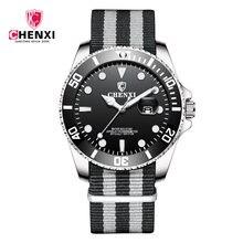 Chenxi Топ бренд Роскошные Кварцевые часы для мужчин с функцией