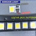 4000 шт. оригинальный LEXTAR 2835 3528 1210 3 в 1 Вт-2 Вт SMD светодиодный для ремонта подсветки телевизора холодный белый ЖК-подсветсветодиодный