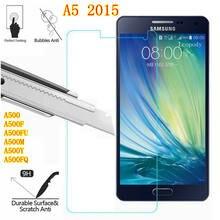 Szkło hartowane 9H do Samsung Galaxy A5 2015 szkło ochronne do Samsung SM A500 A500F A500FU A500M A500Y A500FQ