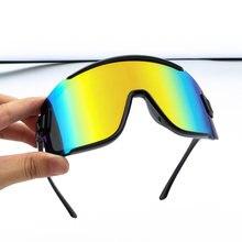 Новинка 2020 года очки для велоспорта в большой оправе uv400