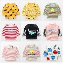Clothing Tee-Shirts Crodile Newborn Baby Blouse Tees Boy Fashion for Kids Fall Cartoon