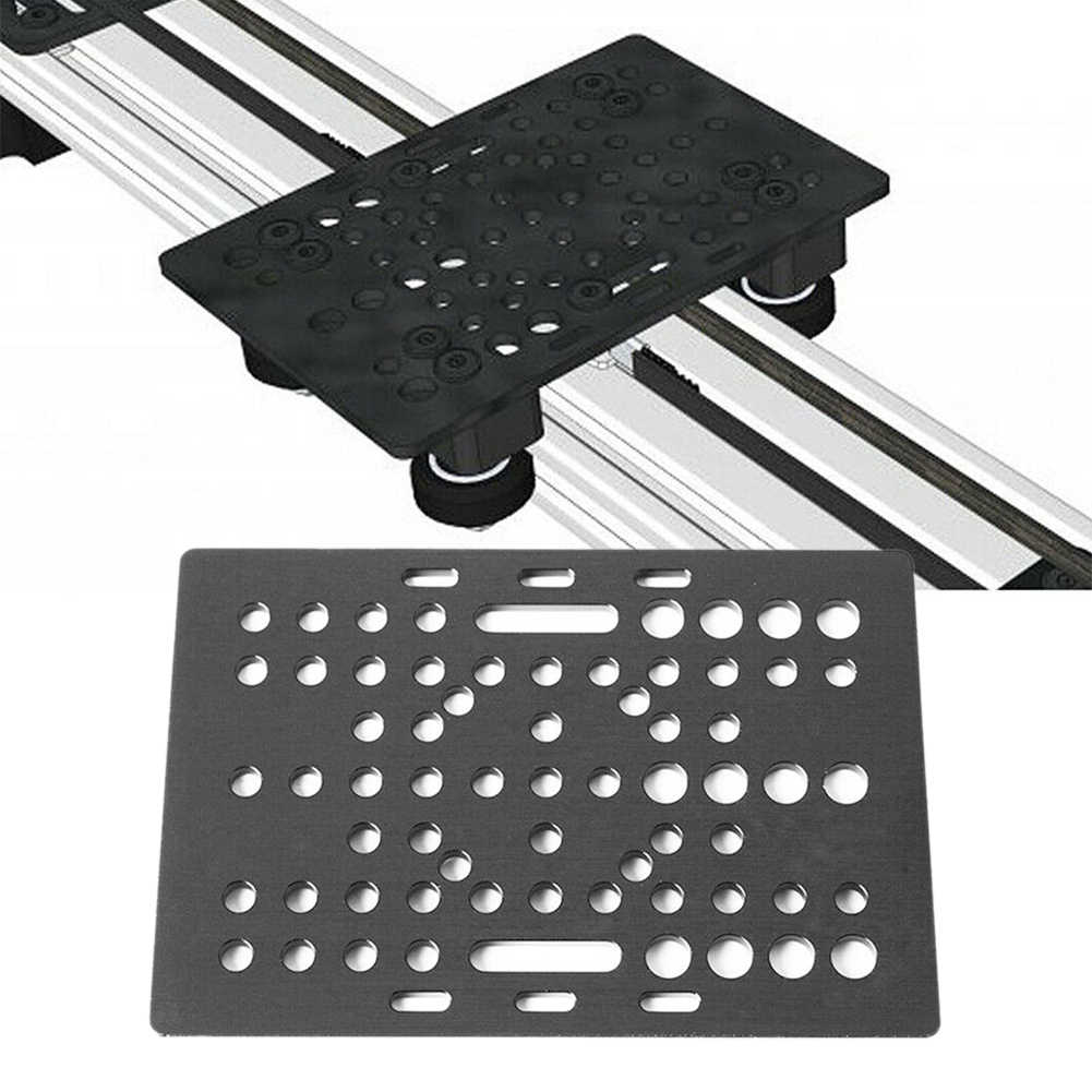 Tool Board 20-80mm Durable Aluminum Replacement Parts 3D Printer Extrusion Gantry Plate Universal V Slot For CNC Router Machine