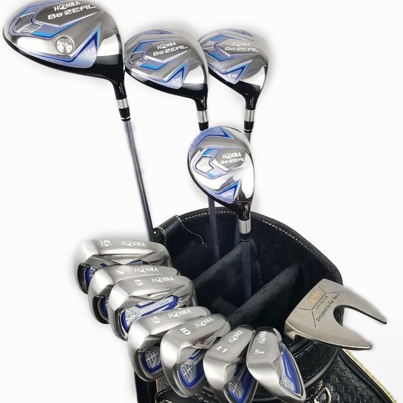 2020 women's golf clubs HONMA Golf Club HONMA BEZEAL 525 golf full set with wooden putter head cover (no bag) 1