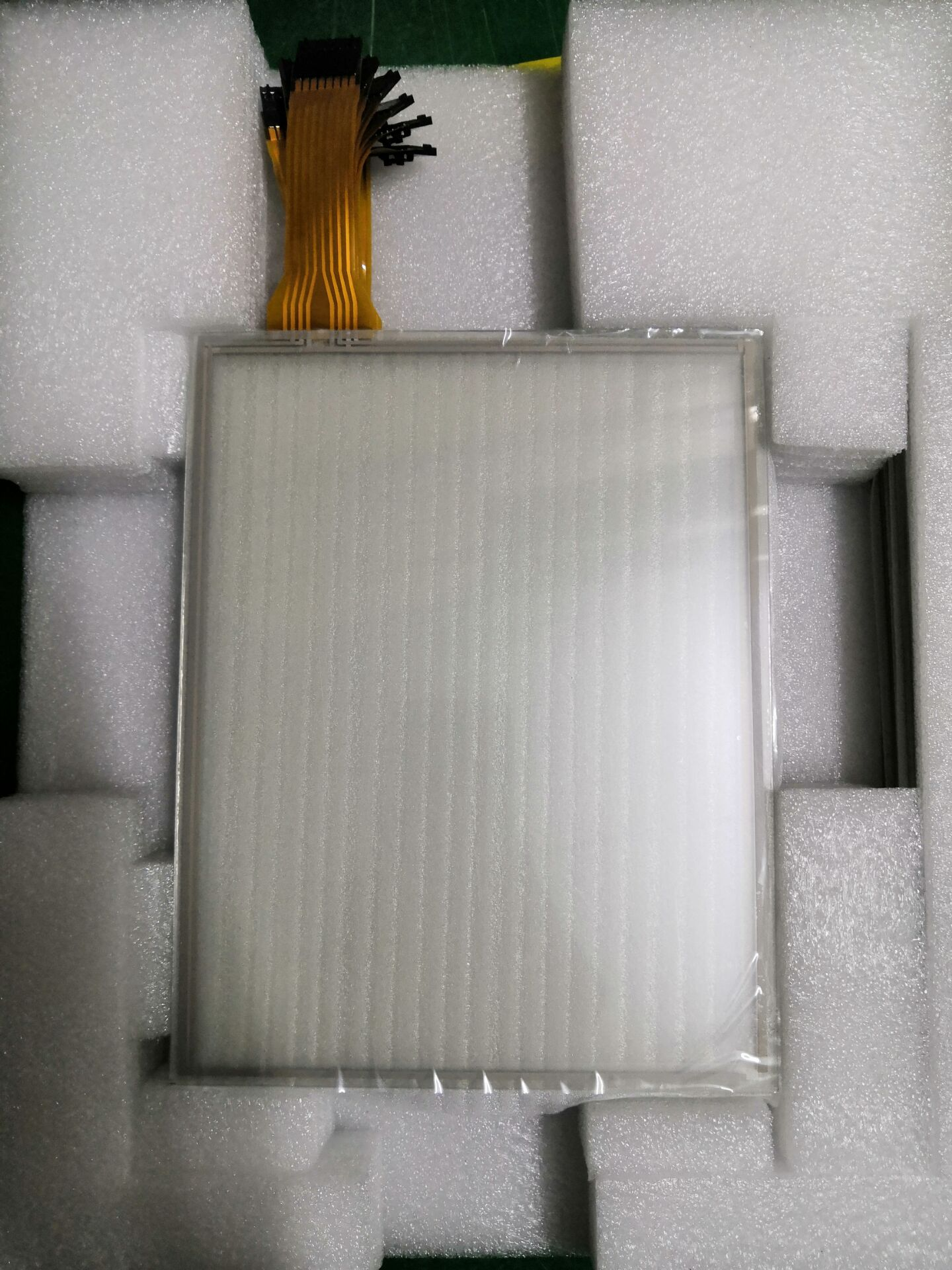 Panel de pantalla táctil resistente, 10,4 pulgadas, 8 cables, mbr8103a1