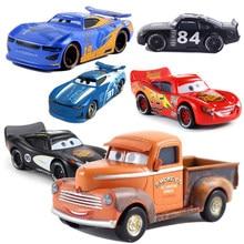 Coche de juguete de Metal de Cars Disney Pixar Cars 3 Jackson Storm, juguete de aleación fundida, 1:55, suelto, nueva marca en Stock