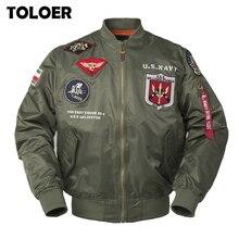2020 chaquetas militares para hombres otoño Vintage Top Gun Streetwear abrigos de Hip Hop Carta de los hombres Punk Bomber Flight chaqueta de piloto de Fuerzas Aéreas