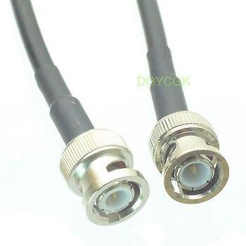 DHL/EMS 20 Sets*Cable BNC male plug to BNC male plug KSR195 Jumper pigtail 10FT -h2