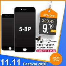 Goede Kwaliteit Tianma Voor Iphone 6 7 8 Plus Lcd scherm Premium Vervangen Met Touch Screen Voor Iphone 5S 6S Plus Display Wit