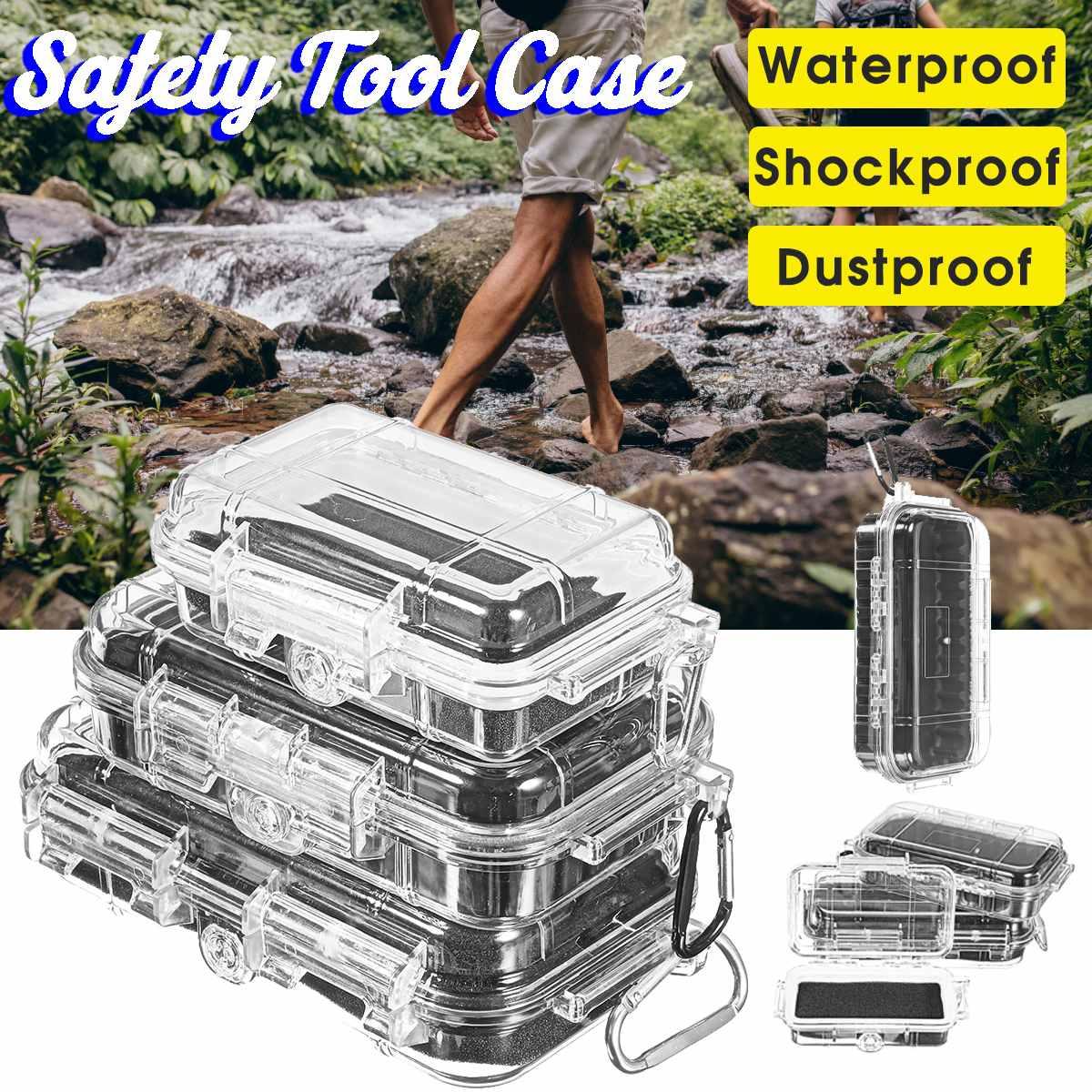 Открытый водонепроницаемый защитный чехол ударопрочный герметичный ABS Пластиковый Инструмент Сухая коробка оборудование для безопасност...